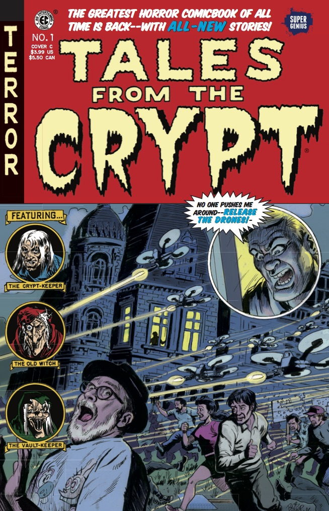 Tales From the Crypt #1 cover by Bob Camp
