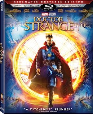 Doctor Strange 3-D Blu-ray combo pack