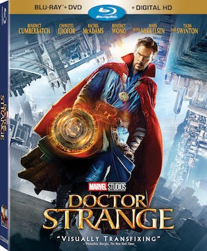 Doctor Strange Blu-ray combo pack
