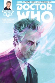 Doctor Who: The Twelfth Doctor Year Two #14 cover by Claudia Caranfa