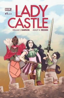 Ladycastle #1 cover by Ashley A. Woods