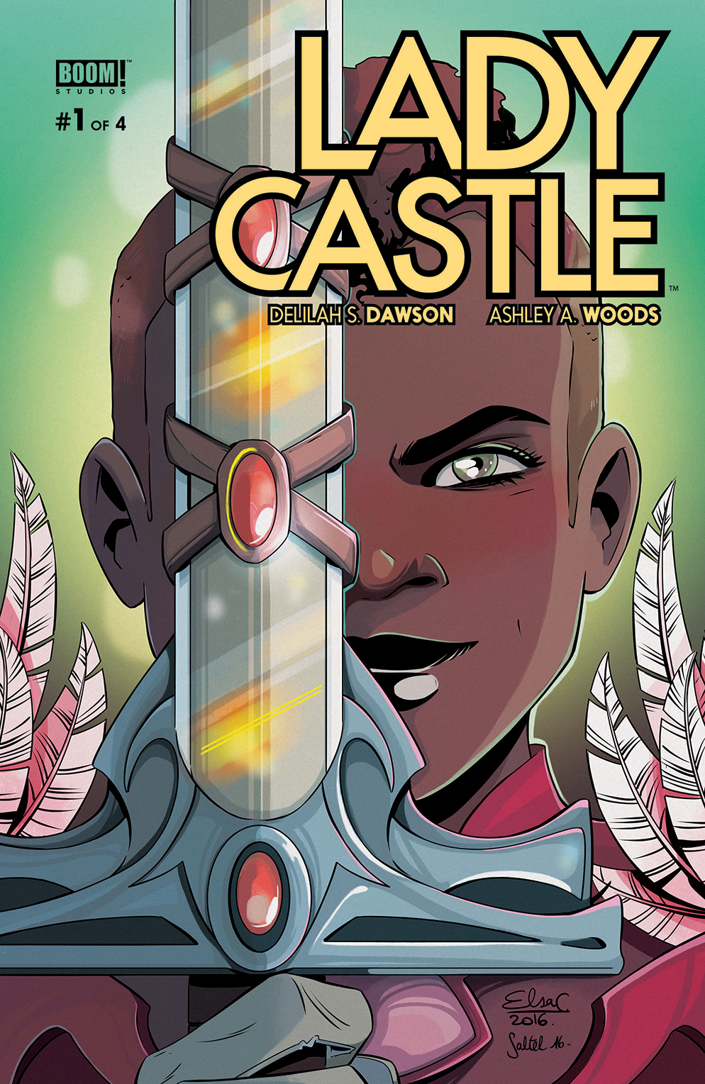 Ladycastle #1 cover by Elsa Chatterier