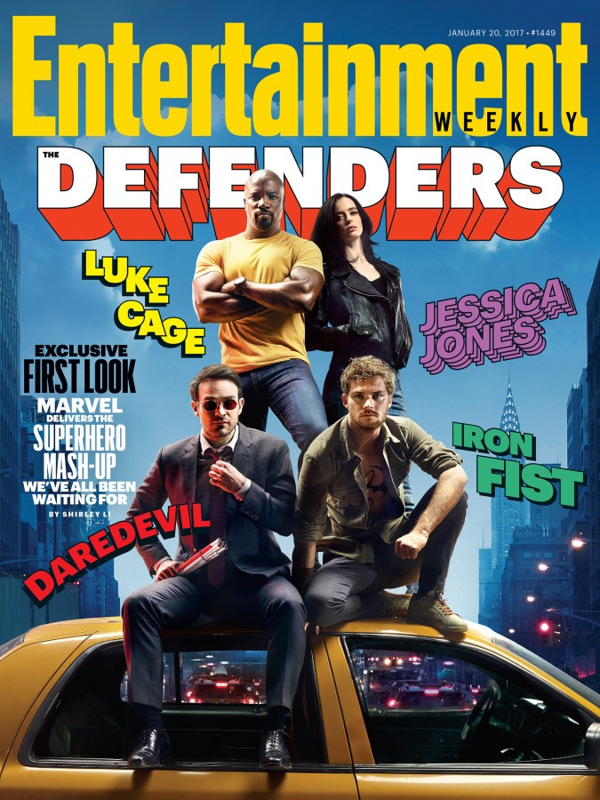 The Defenders Entertainment Weekly cover