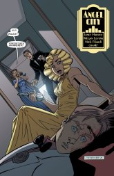 Angel City #5 preview page by Janet Harvey and Megan Levens