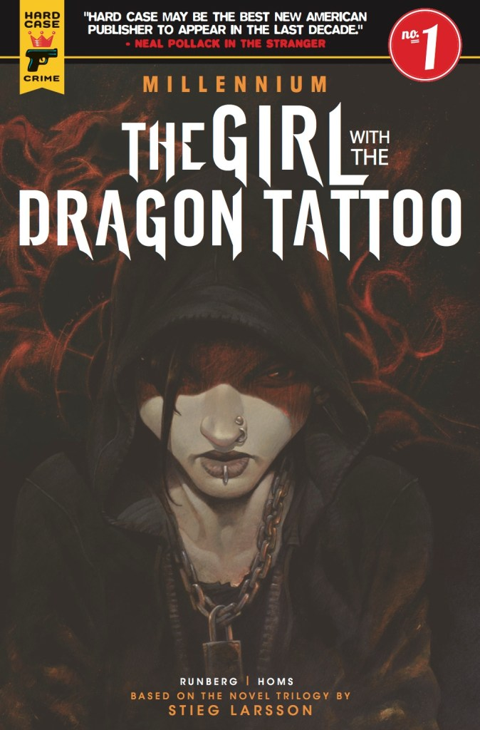 Millennium: The Girl With the Dragon Tattoo cover by José Homs