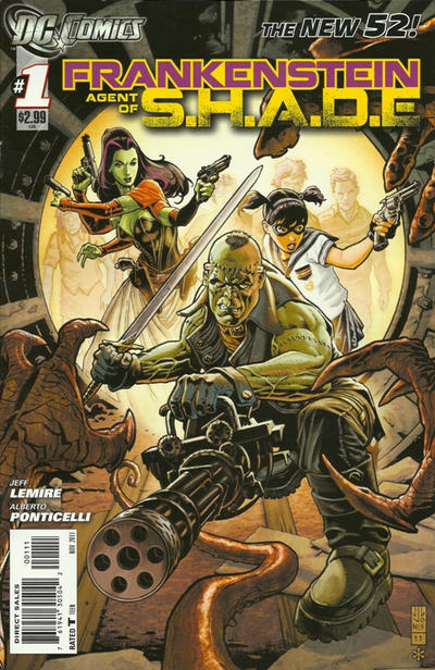 Frankenstein: Agent of S.H.A.D.E. #1