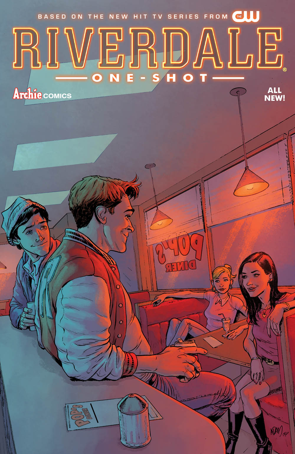 Riverdale one-shot cover by Adam Gorham