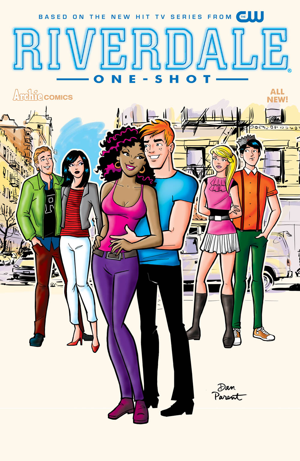 Riverdale one-shot cover by Dan Parent