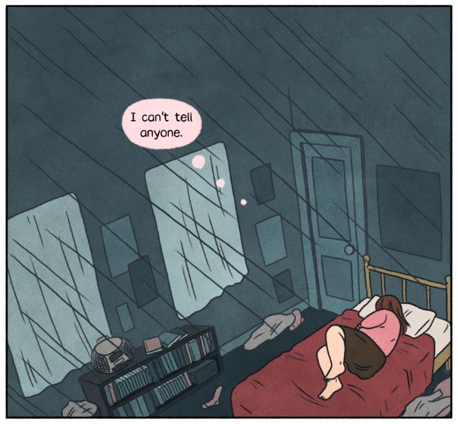 Panel from You'll Be Just Fine by Sarah Winifred Searle