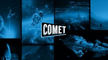 Comet TV app splash screen