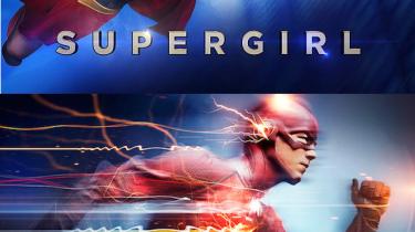 Supergirl Flash promo images