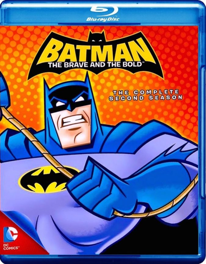 Batman: The Brave and the Bold Season 2 on Blu-ray