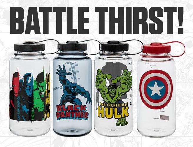 Marvel Nalgene Outdoor water bottles