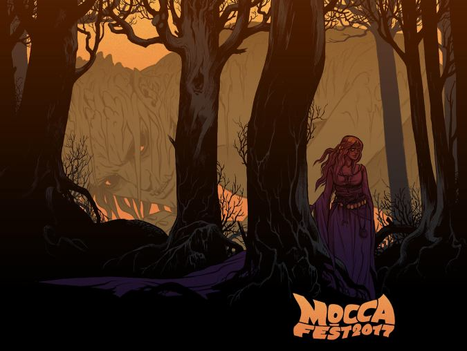 MoCCAFest 2017 art by Becky Cloonan