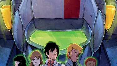Robotech #1 cover by Michael Dialynas