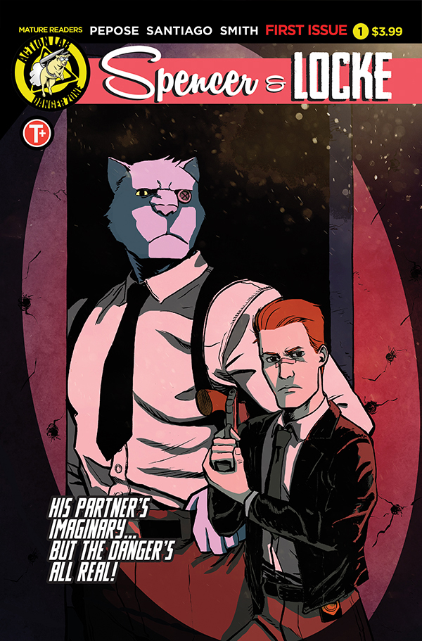 Spencer and Locke #1 cover by Jorge Santiago, Jr.