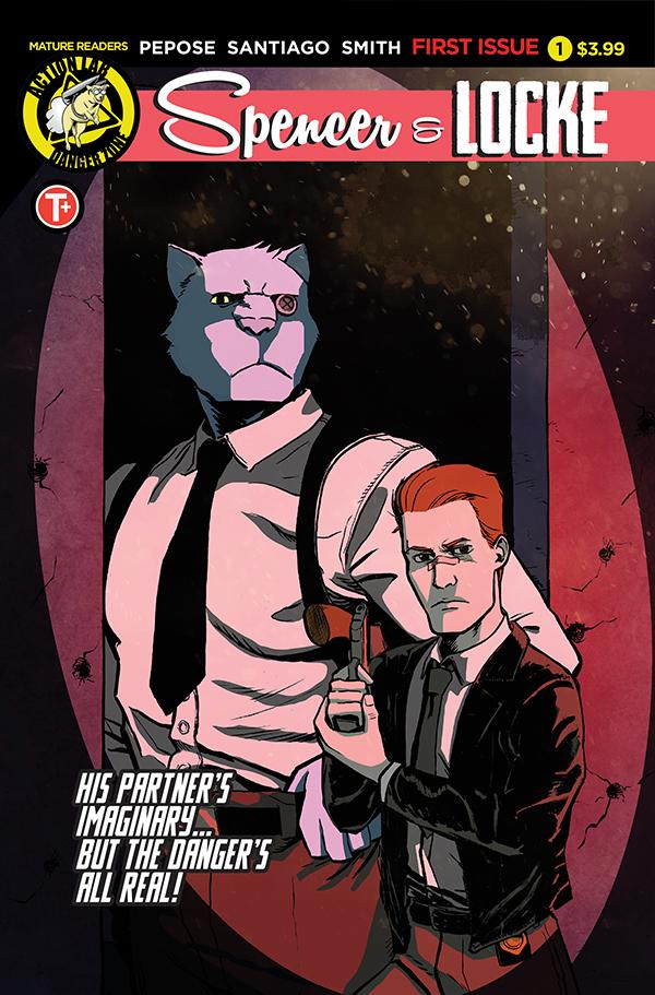 Spencer and Locke #1 cover by Jorge Santiago, Jr.