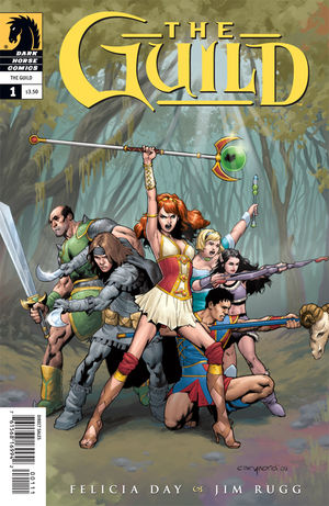 The Guild #1 cover by Cary Nord