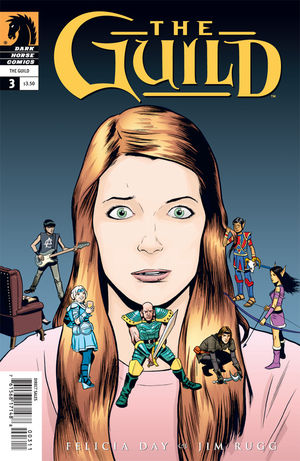 The Guild #3 cover by Jim Rugg