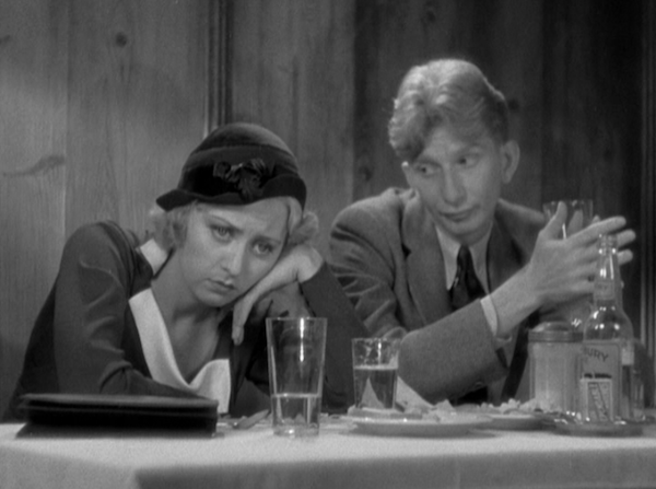 Joan Blondell and Sterling Holloway in Lawyer Man