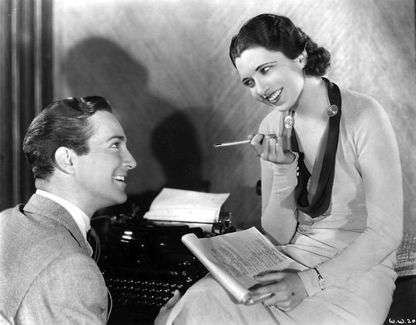 David Manners and Kay Francis in Man Wanted