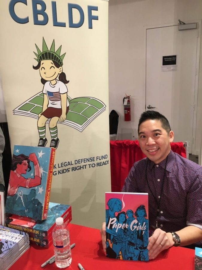 Cliff Chiang at MoCCA Fest 2017