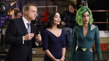 Alan Tudyk, Vanessa Hudgens, and Natalie Morales in Powerless