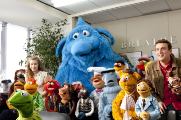 Muppets movie cast