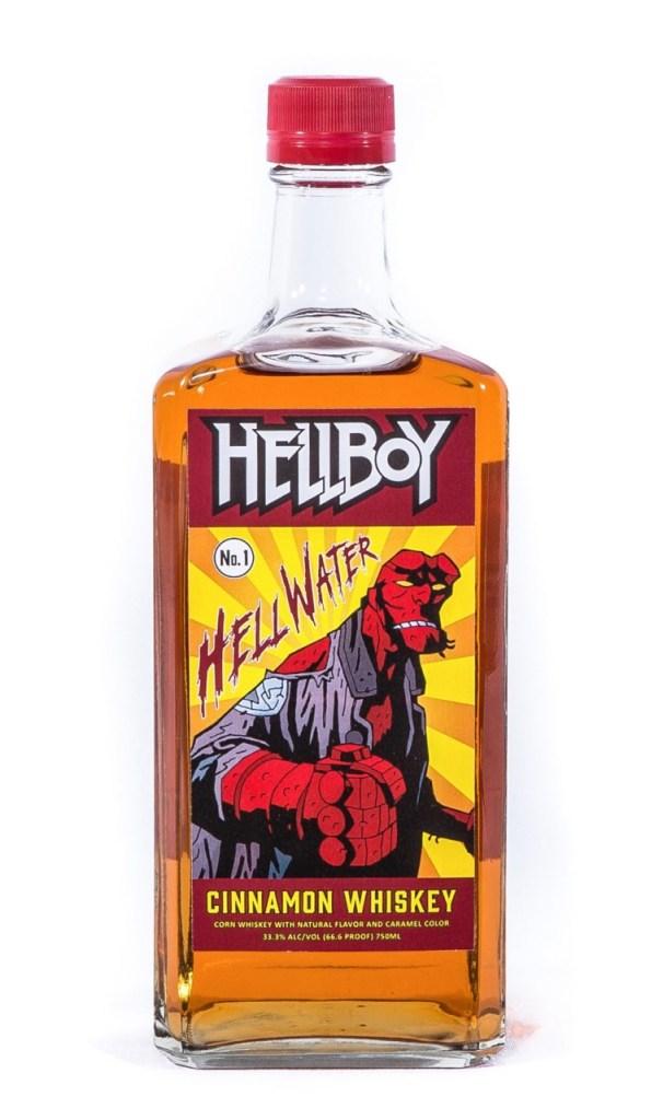 Hellboy Hell Water Cinnamon Whiskey