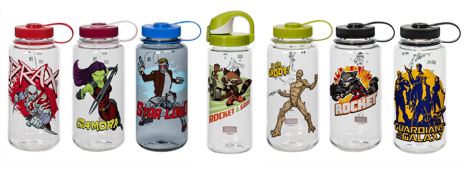1a211bef9a More Marvel Water Bottles, With Guardians of the Galaxy – Comics ...