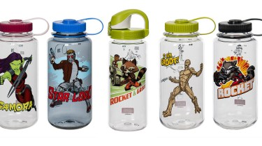 Nalgene Marvel Guardians of the Galaxy water bottles