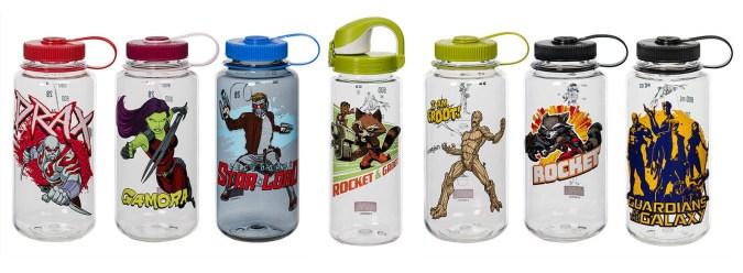 Nalgene Marvel Guardians of the Galaxy water bottles