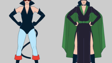 Catwoman costume history