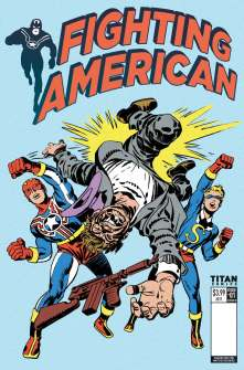 Fighting American #1 cover by Jack Kirby