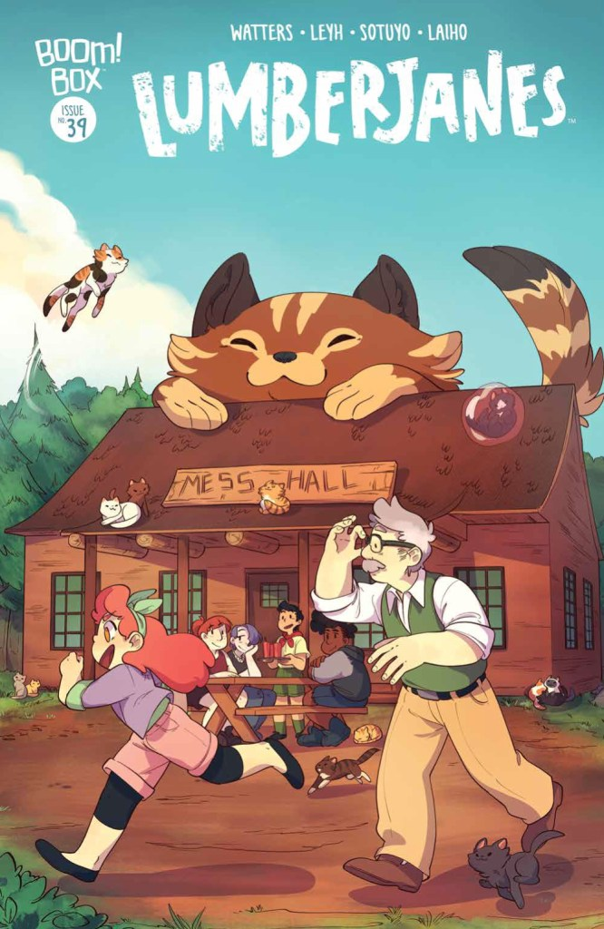 Lumberjanes #39 subscription cover by Ayme Sotuyo