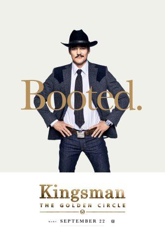 Pedro Pascal in Kingsman: The Golden Circle