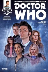 Doctor Who: The Tenth Doctor Year Three #6 photo cover by Will Brooks