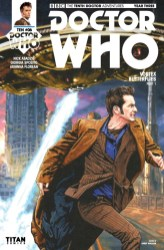 Doctor Who: The Tenth Doctor Year Three #6 cover by Andy Walker