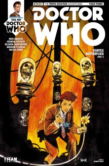 Doctor Who: The Tenth Doctor Year Three #7 cover by Robert Hack