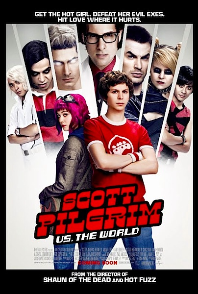 Scott Pilgrim movie poster