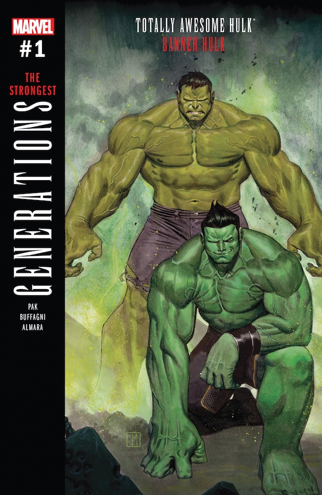 Generations: Banner Hulk and the Totally Awesome Hulk