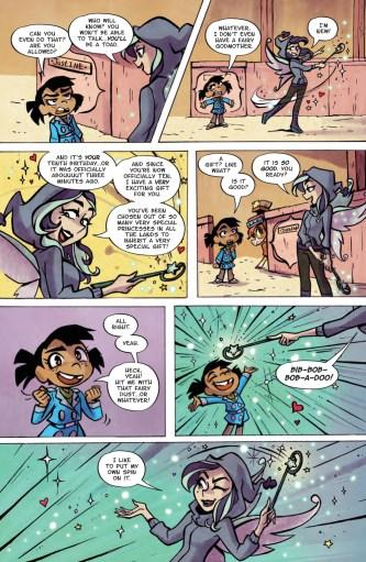 Mega Princess sample page