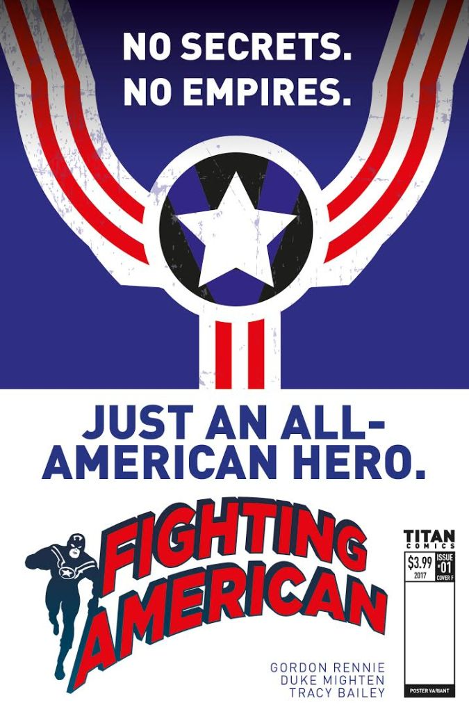 Fighting American teaser poster