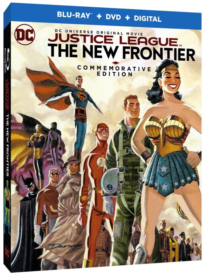 Justice League: The New Frontier Commemorative Edition box art