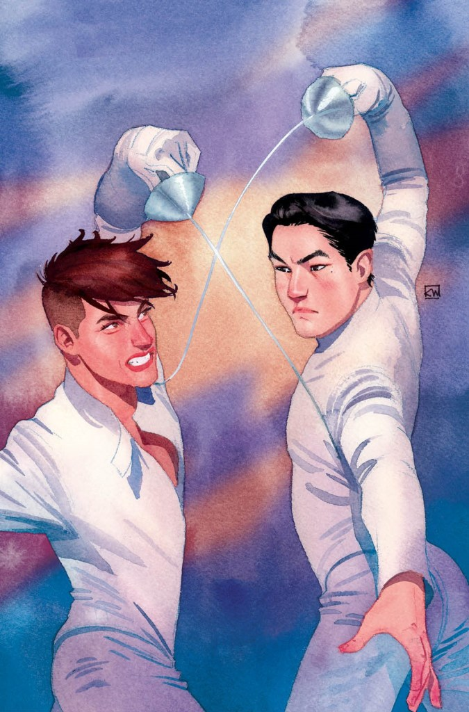 Fence #1 cover by Kevin Wada