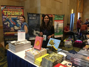 The Drawn & Quarterly booth
