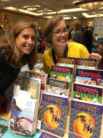 Glynnis Fawkes and Ellen Lindner debuted the latest issue of Strumpet