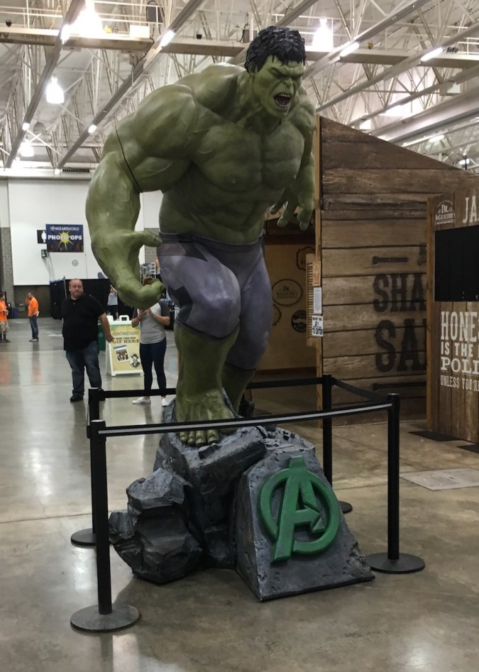Hulk at Wizard World Madison 2017