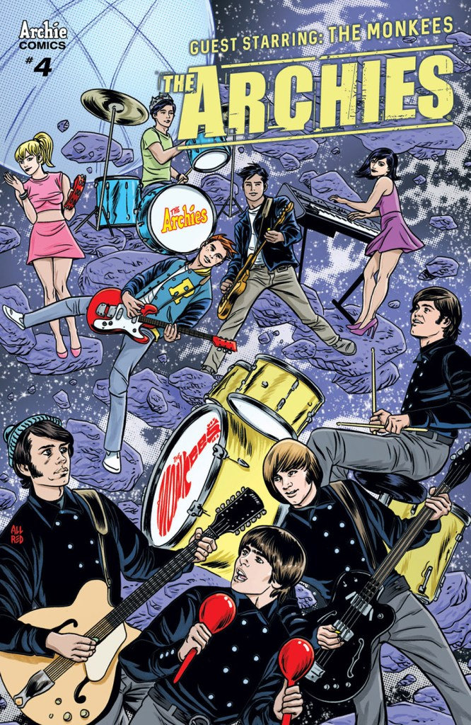 The Archies #4 cover by Michael Allred