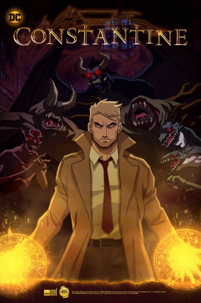 Constantine animated show poster